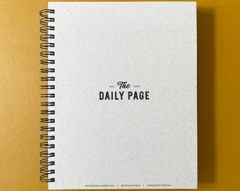 The Daily Page 6-Month Planner