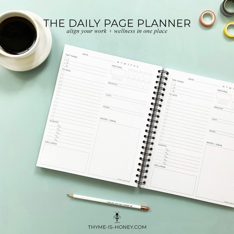 The Daily Page Planner image 0