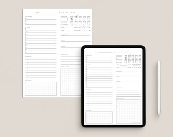 The Daily Page Printable File