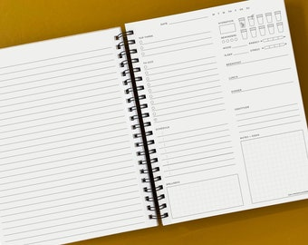 The Daily Page 3-Month Planner & Journal