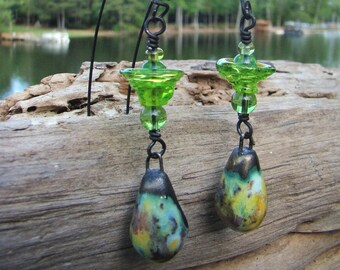 Green Ceramic Drops