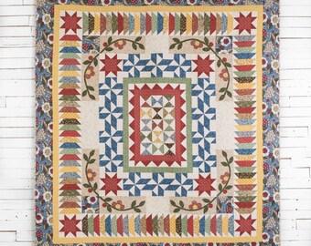 Full Sized Quilt/Garden Charm