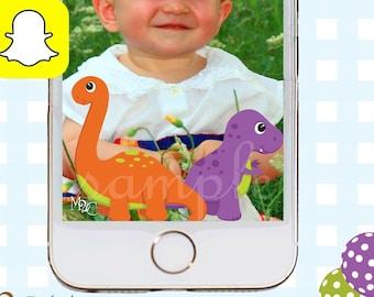 Snapchat GeoFilters, Birthday Snapchat Filters, Party Snapchat Filter, Dinosaur Party, Dinosaur Birthday Party, Dinosaur Birthday Filter