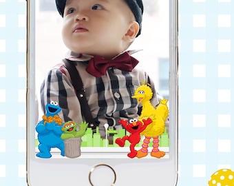 Snapchat GeoFilters, Birthday Snapchat Filters, Party Snapchat Filter, Sesame Street Snapchat Filter, Sesame Street Birthday Filter