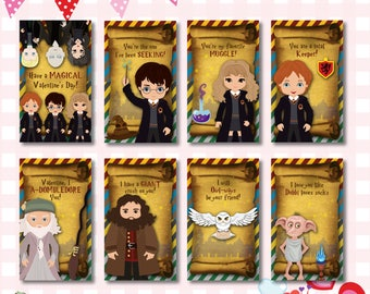 Harry Potter Valentines Day Card Etsy