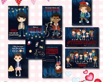 Stranger Things Valentine Etsy
