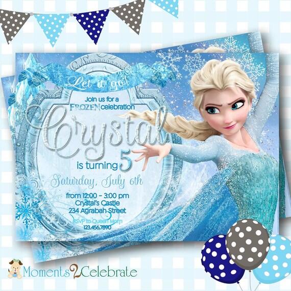 Frozen invitation frozen birthday invitation disney frozen etsy image 0 filmwisefo