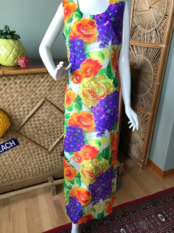 Lovely Alice of California mu'u mu'u / maxi dress