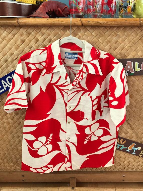 Fantastic iconic vintage Aloha shirt - 1960's Walt