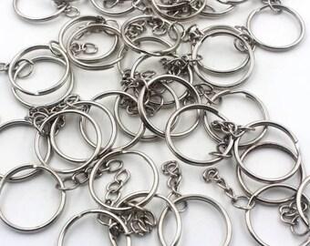 Silver Keychain Rings da6d986b0b