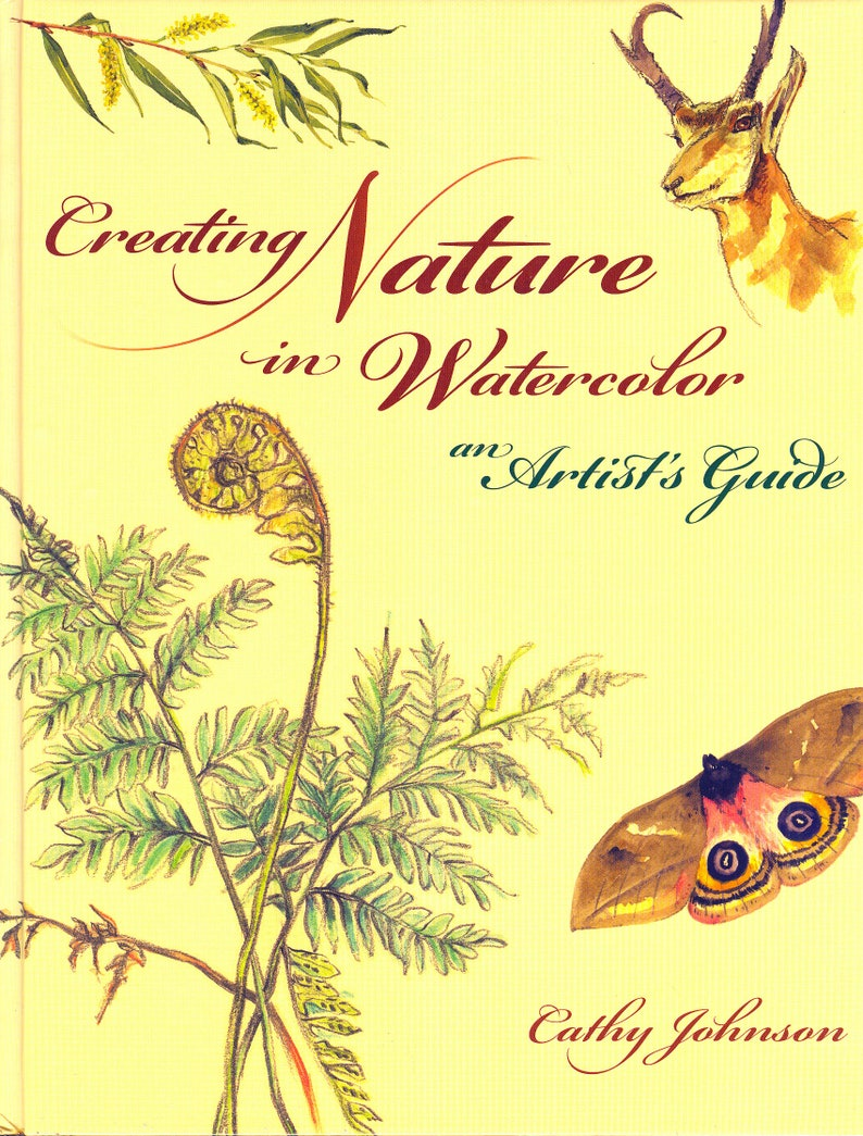 SALE Creating Nature By Cathy Johnsonsigned The Author