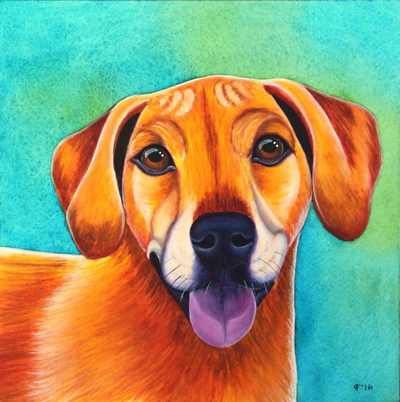 Custom Cat Painting Cat Lover Gift Pet Portrait Custom Dog Portrait Custom Dog Painting Custom pet Painting Custom Pet Portrait Watercolor