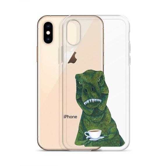 'I'm a Herbivore' Dinosaur Illustration iPhone 11 case