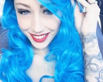 Aqua // Full Synthetic Wig