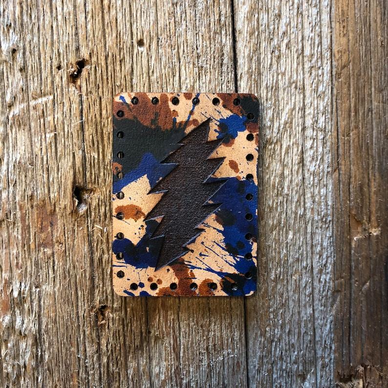 Grateful Dead Leather Patch
