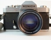 WORKING Konica Autoreflex T3 SLR Film Camera Vintage