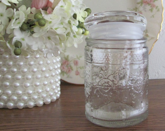 Mini Mason Favor Jars, Craft Jars, Wedding Favor Jars, Party Favor Jars, Pressed Glass Jars Packaging for Candles and Gifts