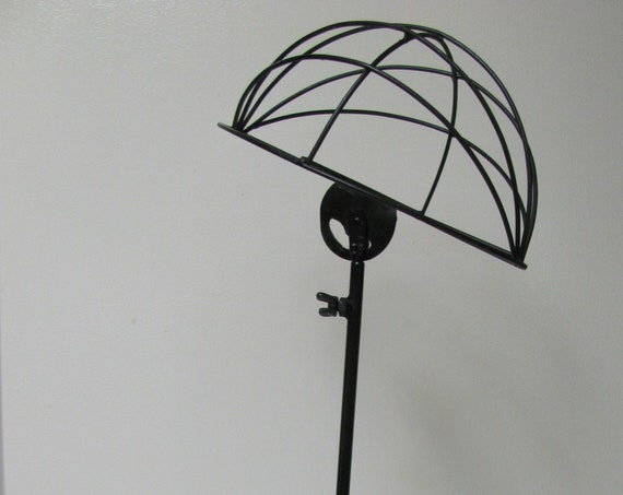 Milliner Hat Stand, Adjustable Metal Hat Stand, Hat Display Stand, Tea Party Hat Centerpiece Display Stand, Hat Display Stand