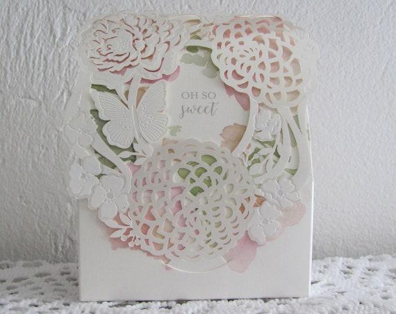 10 Party Favor Boxes, Candy Favor Boxes, Bridal Shower Favor Boxes, Wedding Favor Boxes, Butterfly Favor Box