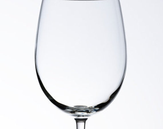 Wedding Unity Wine Ceremony Glass with Option for Engraving