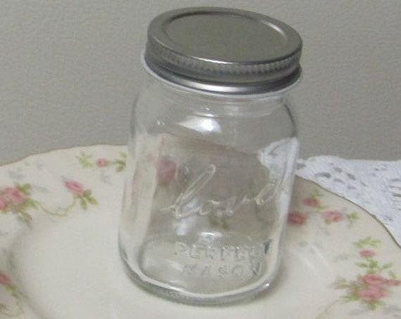 Mini Mason Jars, Love Mason Jars, Small Mason Craft Jars, DIY Party Favor Jars, Empty mini mason jars for Weddings, Holidays and Showers