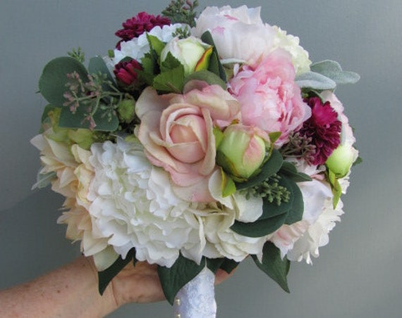Brides Bouquet, Silk Bridal Bouquets, Flower Bouquet for the Bride, Wedding Bouquet, Destination Wedding Bouquet,  Bouquets