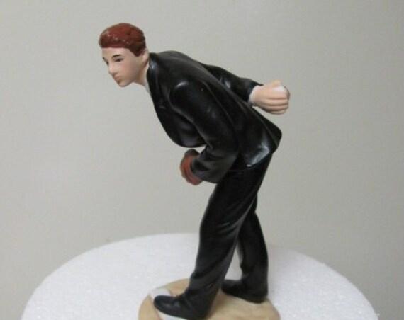 Baseball Groom Wedding Cake Topper, Groom Cake Topper, Baseball Theme  Cake Top, Wedding Baseball Sports Themed Cake Topper