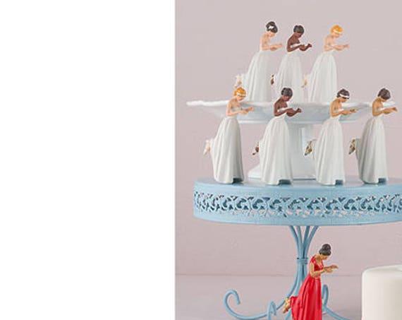 Bride Wedding Cake Topper, Wedding Cake Top, Bride True Romance