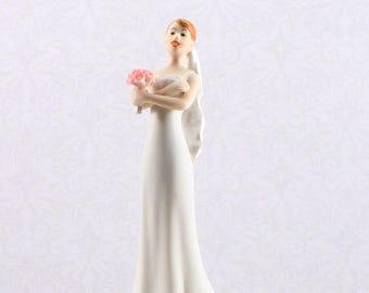 Bride Wedding Cake Topper, funny Losing Patience Bride Cake Top