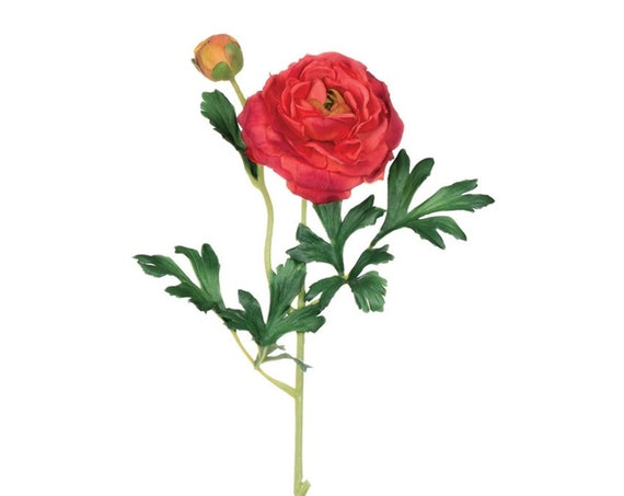 Coral Flower, Artificial Flowers, Ranunculus, Wedding Flowers, Event Flowers, Bouquet Flowers, Floral Arrangement Flower