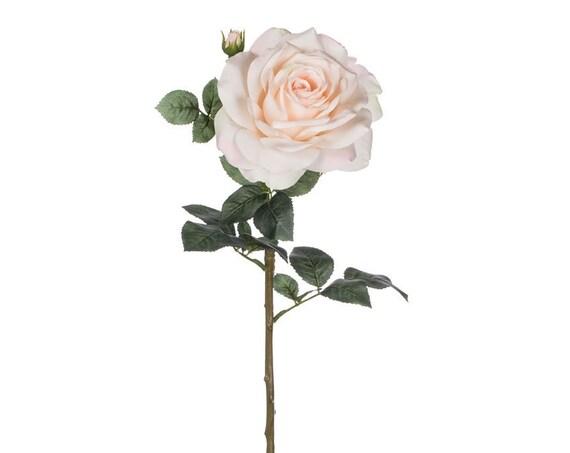 Blush Rose, Artificial Flowers, Wedding Flowers, Silk Flowers, Pink Blush Roses, Hair Flowers, Bridal Bouquet Flower, Wedding Cake Flowers