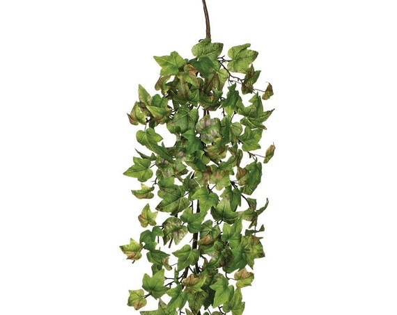 Ivy Vine, Faux Ivy, Wedding Plants, Artificial Plants, Fake Vines, Long Wedding Ivy Vine, 4 Foot Long Vine, Rich Artificial Greens