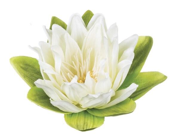 Floating Lotus Flowers, 6 Floating Flowers, Wedding Centerpiece Florals,  Floating Centerpiece Flowers, Craft Flowers, Event Flowers