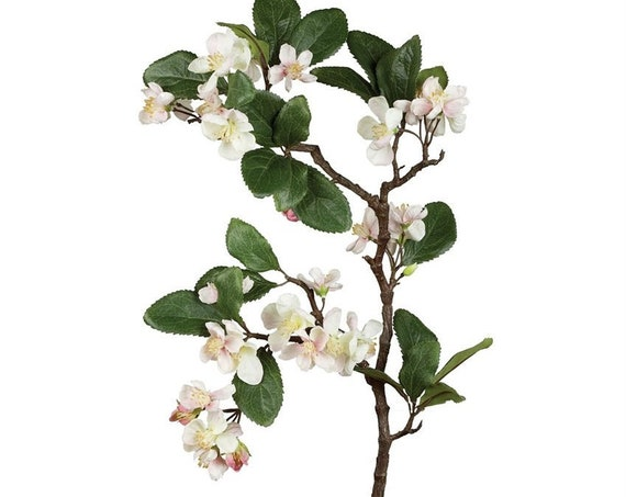 3 Apple Blossom Sprays, Wedding Branches, Apple Blossom Floral Stems, Wedding Floral Stems, Wedding Flower Stem Decorations, Floral Sprays