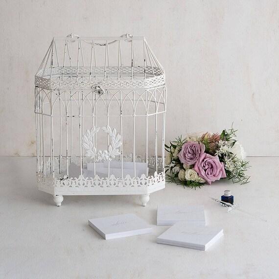 Wedding Centerpiece Birdcage,Wedding Wishing Well,  Wedding Birdcage, Wire Bird Cage To Create Wedding Floral Centerpiece