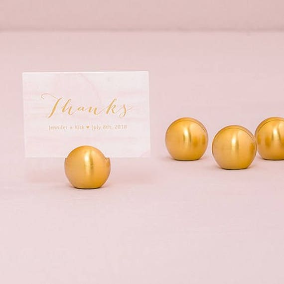 Wedding Event Place Card Holders, Sign Holders, Card Holders