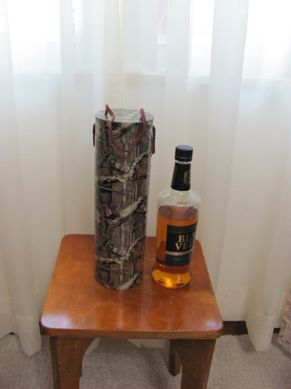 12 Holiday Bottle Boxes, Camouflage Print Wine Box, Liquor Bottle Boxes, Bottle Gift Packaging, Christmas Boxes, Holiday Boxes