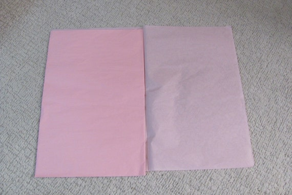 Light Pink Tissue Paper, 25 Sheets Pink Tissue Paper, Gift Bag Tissue Paper, 20 by 26 Inch Sheets of Pink Tissue Paper