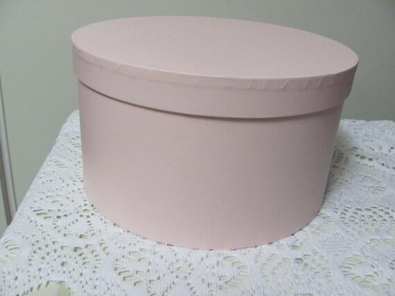 Round Pink Box , 10 Inch Round Pink Gift Box, Bridesmaids Gift Box