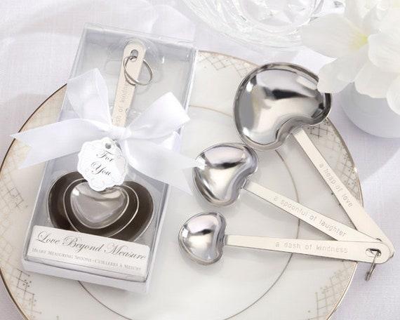 Wedding Party Favors, Measuring Spoon Bridal Shower Favors
