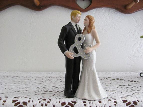 Bride and Groom for Wedding Cake Top, Wedding Cake Topper, Wedding Cake Top Bride and Groom Figurine