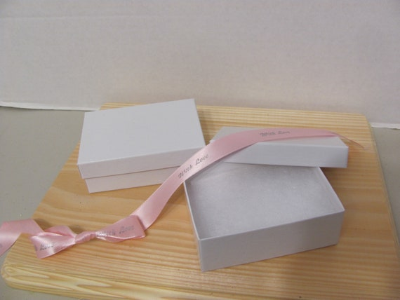 6 White Jewelry Gift Boxes,  White Small Gift Boxes, Gift Box