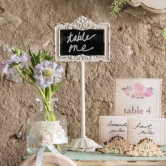 Wedding Stand, Chalkboard Sign, Table Number Stand, Blackboard Table Stand