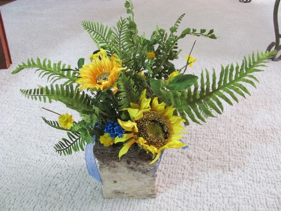 Wedding Centerpieces, Sunflower Floral Arrangement, Wedding Centerpiece, Reception Flowers, Centerpiece Flowers, Home Decor, Sunflower Decor