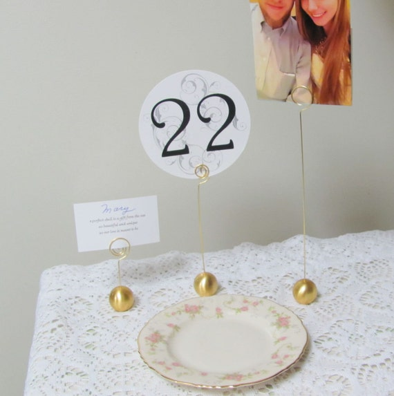 Table Number Holders, Wedding Party Special Event Stationery Holders, Table Number Card Holders, Menus, Place Cards, Photo Holders