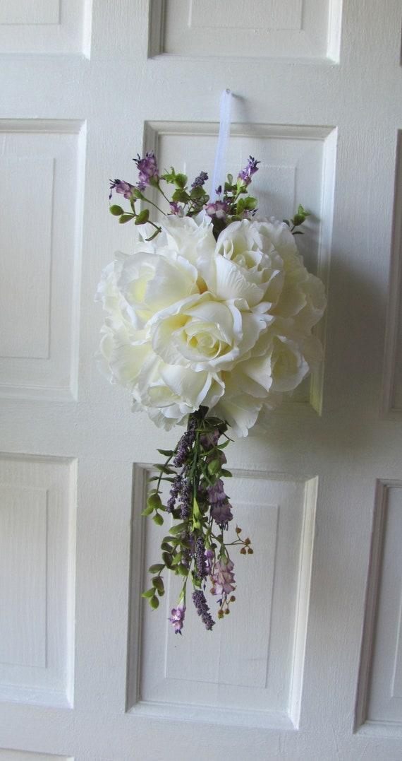 Wedding Decorations Wedding Aisle Flower Ball Wedding Chair Etsy