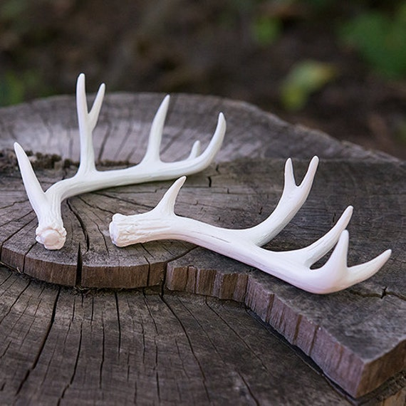 Antler Place Card Holders, Woodland Wedding Supplies, Mini Faux Antlers, Christmas Ornaments, Boutonnieres or Party Favors