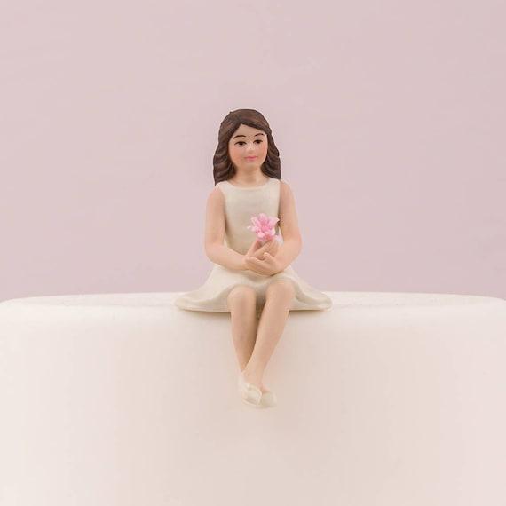 Cake Topper PreTeen Girl, Wedding PreTeen Girl Cake Top, Girl Figurine, Preteen Boy Figurine,