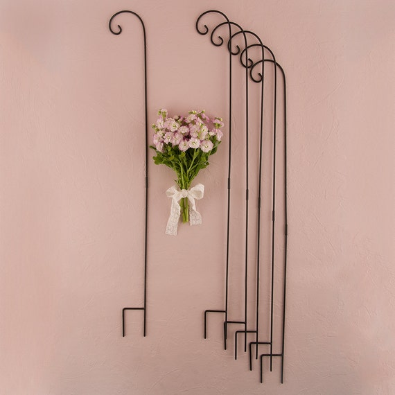 Wedding Aisle Stands, Shepherd Hooks,Wedding Aisle Decor, Hooks to Hold Decorations for Wedding Aisles, Wedding Flower Hooks