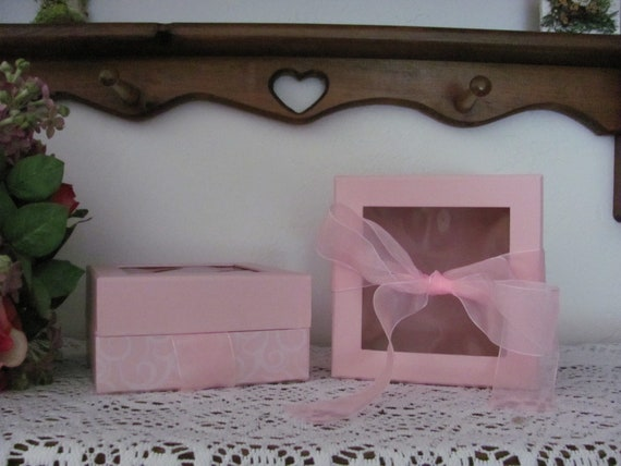 Pink Gift Boxes, Bridesmaids Gift Box, Gift Box, Mother's Day Gift Boxes, Gourmet Gift Boxes, Gourmet Presentation Boxes, Pink Box